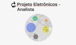Projeto Eletrônicos - Analista