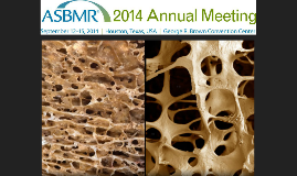 ASBMR overview - Oct 2014
