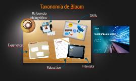 Taxonomia de Bloom.
