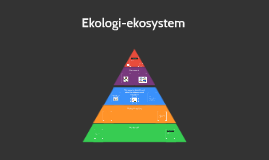 Ekologi-ekosystem