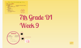 Week 9 7th Grade Formal Voice & Types of Sentences