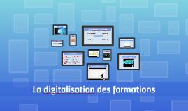 La digitalisation des formations