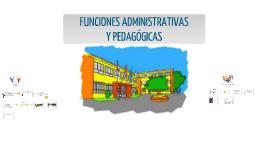 Copy of Funciones administrativas y pedagógicas de escuela