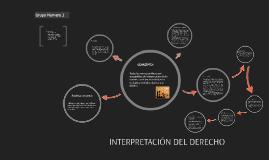 interpretació del derecho