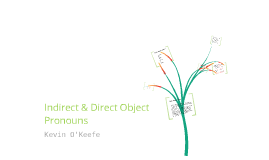 Direct/Indirect Objects