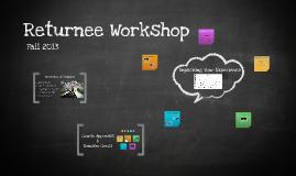 Returnee Workshop