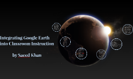 Integrating Google Earth