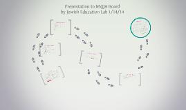 Presentation to NNJJA Board