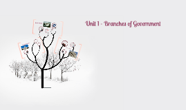 Unit 1 - Branches of Government
