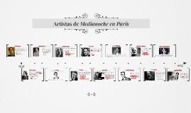 Artistas de Medianoche en París