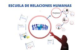 Copy of Escuela de Relaciones Humanas