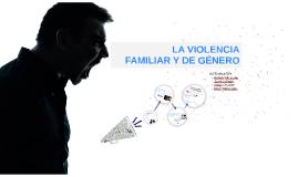 La violencia familiar y de género - Lenguaje