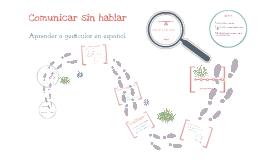 Copy of Comunicar sin hablar