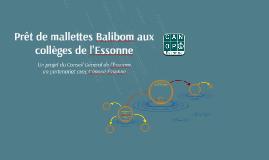 Prêt de mallettes Balibom aux collèges de l'Essonne
