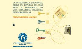 LA INTELIGENCIA EMOCIONAL DESDE UN ESTUDIO DE CASO PARA EL D