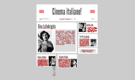 Cinema italiano!