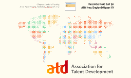 December NAC Call for ATD New England/Upper NY