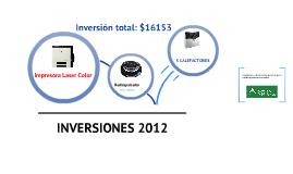 Inversiones 2012