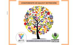 COMPONENTE DE SALUD Y NUTRICIÓN