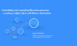 Embedding and expanding library instruction