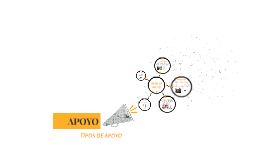 APOYO - TIPOS DE APOYOS