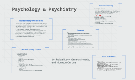 Psychology & Psychiatry