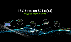 IRC Section 501 (c)(3)