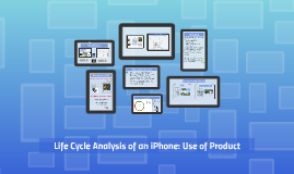 Life Cycle Analysis: Usage