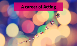 A career of Acting
