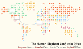 The Human-Elephant Conflict in Africa