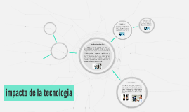 impacto de la tecnologia
