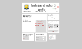 Copy of Elementos de una recta como lugar geometrico
