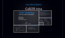 CalGIS 2014