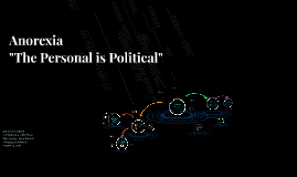 """Anorexia """"The Personal Is Political"""""""
