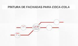 PINTURA DE FACHADAS PARA COCA-COLA