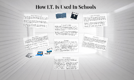How I.T. Is Used In Schools