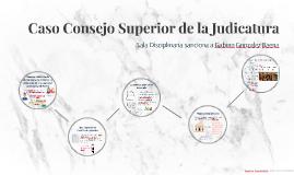 Caso Consejo Superior de la Judicatura