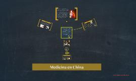 Medicina en China