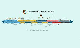 Copy of LÍNEA DEL TIEMPO DE LA HISTORIA DEL PERÚ