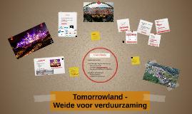 Tomorrowland -