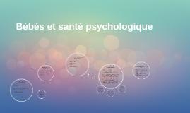 Bébés et santé psychologique