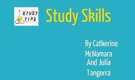Copy of Study Skills