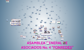 "ASAMBLEA GENERAL DE ASOCIADOS No. 4 ""FONREDES"""