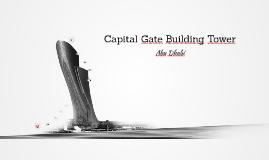 Capital Gate Building Tower - Abu Dhabi