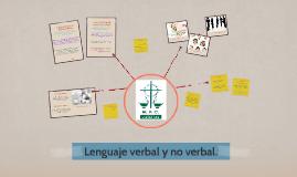 Copy of Lenguaje verbal y no verbal.