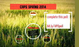CAPS Spring 2014