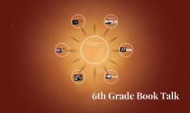 6th Grade Book Talk