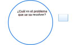 ¿Cuál es el problema que se va resolver?