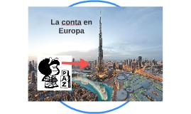 La conta en Europa