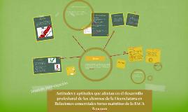 Actitudes y aptitudes que afectan en el desarrollo profesion